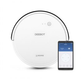 Ecovacs Floor cleaning robot DEEBOT 605 EU Warranty 24 month(s), Battery warranty 24 month(s), Robot, White, 0.3 L, 64 dB, Wet &