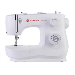 Singer Sewing Machine M2405 Number of stitches 8, Number of buttonholes 1, White