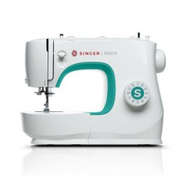 Singer Sewing Machine M3305 Number of stitches 23, Number of buttonholes 1, White