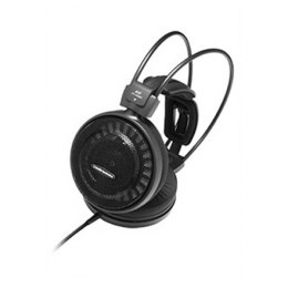 Audio Technica ATH-AD500X Headphones, 3.5mm (1/8 inch), Over-ear, Noice canceling, Black