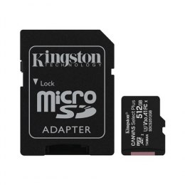 Kingston Canvas Select Plus 512 GB, Micro SD, Flash memory class 10, SD adapter
