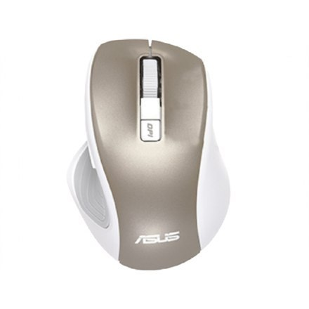 Asus MW202 2.4GHz Wireless Optical Mouse, Wireless connection, Gold