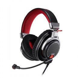 Audio Technica ATH-PDG1a 3.5mm (1/8 inch), Over-ear, Microphone, Black/Red
