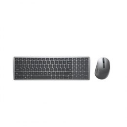 Dell Keyboard and Mouse KM7120W Wireless, 2.4 GHz, Bluetooth 5.0, Keyboard layout Nordic, Titan Gray