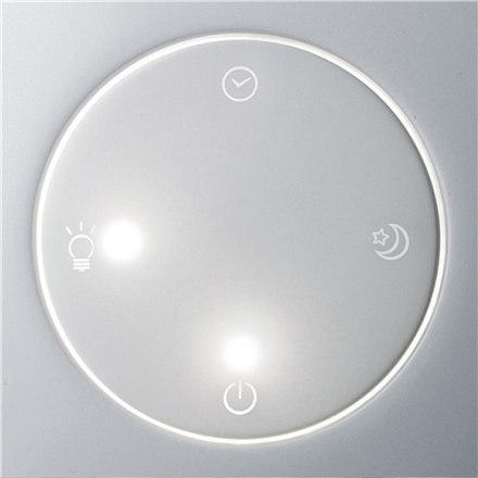 Duux Sphere Humidifier, 15 W, Water tank capacity 1 L, Suitable for rooms up to 15 m², Ultrasonic, Humidification capacity 130 m