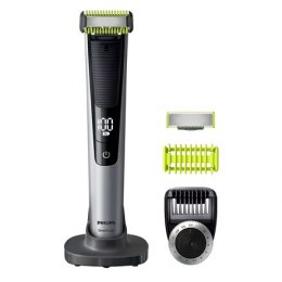 Philips OneBlade Pro Shaver QP6620/20 Wet & Dry Yes, Wet use, Black/Silver
