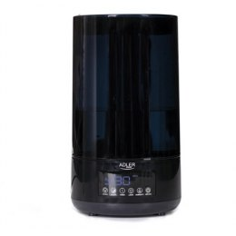 Adler Air humidifier AD 7963 35 m³, 25 W, Water tank capacity 4.3 L, Ultrasonic, Humidification capacity 310 ml/hr, Black