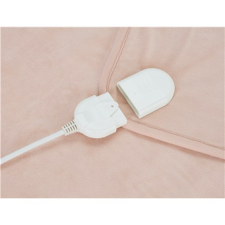 Camry Electric blanket CR 7424 Number of heating levels 8, Number of persons 2, Washable, Coral fleece, 2 x 60 W, Beige