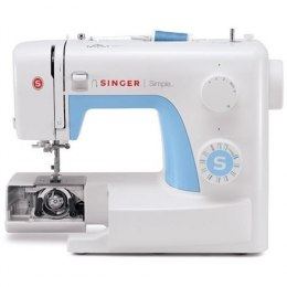 Singer Sewing Machine 3221 Number of stitches 21, Number of buttonholes 1, White