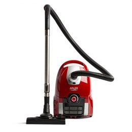 Adler Vacuum Cleaner AD 7041 700 W, Bagged, 74 dB, Red
