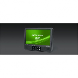 Muse Lecteur DVD Portable Player M-055RG USB connectivity,