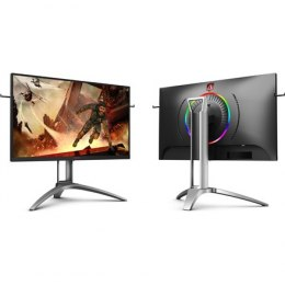"AOC Gaming Monitor AG273QX 27 "", VA, QHD, 2560 x 1440 pixels, 16:9, 1 ms, 400 cd/m², Black"