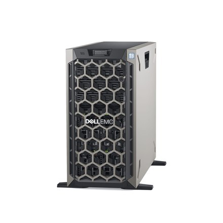 Dell PowerEdge T440 Tower, Intel Xeon, Silver 1x4114, 2.2 GHz, 14 MB, 20T, 10C, RDIMM DDR4, 2666 MHz, No RAM, No HDD, Up to 8 x