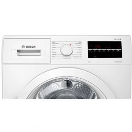 Bosch Dryer mashine WTR87TW0SN Energy efficiency class A+++, Front loading, 8 kg, Sensitive dry, LED, Depth 60 cm, White