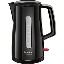 Bosch Kettle TWK3A013 CompactClass Electric, 2400 W, 1.7 L, Plastic/Stainless steel, Black, 360° rotational base