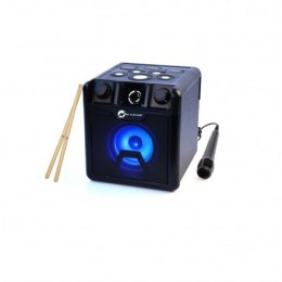 N-Gear Portable Bluetooth Cube Drum Speaker The Drum Block 420 50 W, Portable, Wireless connection, Black, Bluetooth