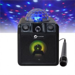 N-Gear Portable Bluetooth and Disco Karaoke Speaker The Disco Block 410 50 W, Portable, Wireless connection, Black, Bluetooth