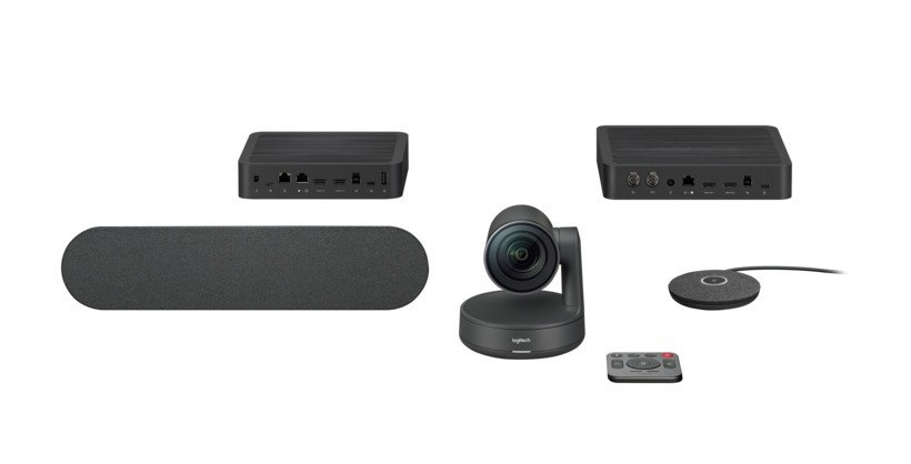 Logitech Premium Rally Ultra HD Video Conference system with automatic camera control