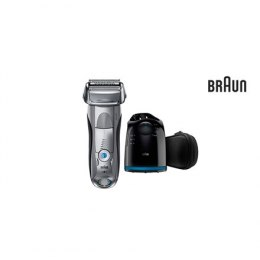 Braun Shaver 7899cc+CCR2 Charging time 1 h, Wet use, Li-Ion, Number of shaver heads/blades 4, Silver/ black