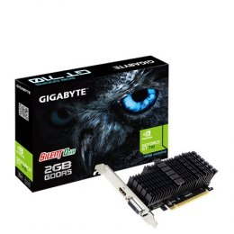 Gigabyte Low Profile NVIDIA, 2 GB, GeForce GT 710, GDDR5, PCI Express 2.0, Processor frequency 954 MHz, HDMI ports quantity 1, M