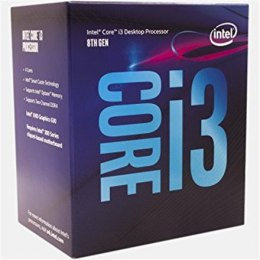 Intel i3-8100, 3.6 GHz, LGA1151, Processor threads 4, Packing Retail, Cooler included, Processor cores 4, Component for PC