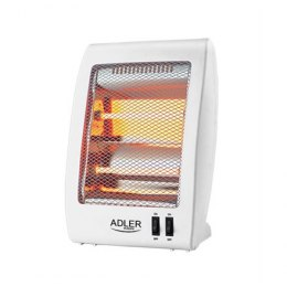 Adler Halogen Heater AD 7709 Halogen, Number of power levels 2, 400 / 800 W, White