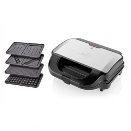 ETA 4 in 1 sandwich maker ETA315190010 Black/Stainless steel, 900 W, Number of plates 4, Number of sandwiches 2