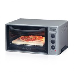 Rommelsbacher Mini oven BG 1600 40 L, Table top, Silver/black, 1600 W