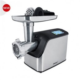 Steba Meat mincer MG1600 V6 Stainless Steel/Black, 1500 W, Big filling tray with lid for easy storage of the attachments. Cookie