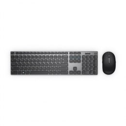 Dell Keyboard and mouse KM717 Premier, Wireless, Keyboard layout Russian, USB, Bluetooth, Black, Wireless connection Yes, Mouse