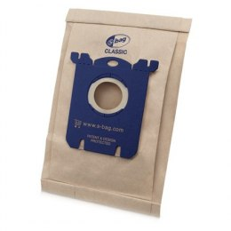 Philips S-bag Vacuum cleaner bags FC8019/01 Paper bag, Universal dust bag for all Philips and Electrolux, Brown