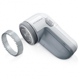 Severin Handy lint shaver CS 7976 White, Baterry powered