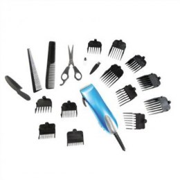 DomoClip DOS107 Hair clipper, 19 accessories, Cutting length from 1,5 to 25 mm, Blue DomoClip DomoClip DOS107 Warranty 24 month