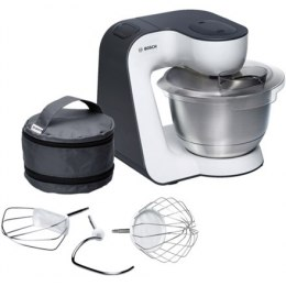 Bosch Kitchen machine MUM54A00 Black, Silver, White, 900 W,