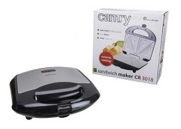 Camry CR 3018 Black, Silver, 700 W, Number of sandwiches 4