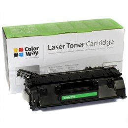 ColorWay Toner Cartridge, Black, HP CE505A (05A); Canon 719