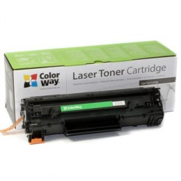 ColorWay Toner Cartridge, Black, HP CE285A (85A); Canon 725
