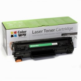 ColorWay Toner Cartridge, Black, Canon: 728/726, HP CE278A