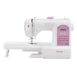 Sewing machine Singer STARLET 6699 White, Number of stitches 100, Number of buttonholes 7, Automatic threading
