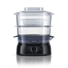 Philips Daily Collection Steamer HD9126/00 Black, 900 W, Number of baskets 3