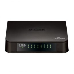 D-Link Switch DES-1016A Unmanaged, Desktop, 10/100 Mbps (RJ-45) ports quantity 16, Power supply type Single