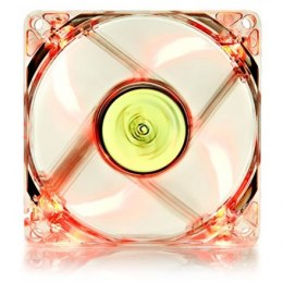 "Deepcool ""XFAN"" 80mm transparent frame with red LED case ventilation Fan"