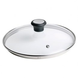 TEFAL 28097812 Glass Lid, 30 cm, Suitable for Talent PRO, Character, CHEF, Duetto, Intuition, Meteor, Pleasure, So Intensive ser