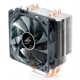 "Deepcool ""Gammaxx 400"" universal cooler, 4 heatpipes, Intel Socket LGA 2011/1155/ 775, 130 W TDP and AMD Socket FM1/AM3+/AM3/AM2"