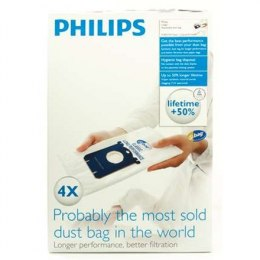 Philips disposable dust bag FC8021/03 Dust Bag 4pcs, • AirStar: FC8220 - FC8229• City-Line: FC8400 - FC8439, HR8368 - HR8378• Ea