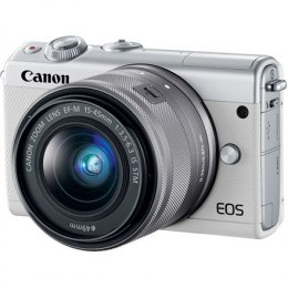 "Canon EOS M100 BK M15-45 S + IRISTA EU18 Mirrorless Camera Kit, 24.2 MP, ISO 25600, Display diagonal 3.0 "", Video recording, Wi-"