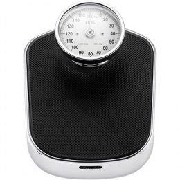 ADE Mechanical Bathroom Scale BM 702 Felicitas Maximum weight (capacity) 160 kg, Accuracy 100 g, Multiple user(s), Black/ silve
