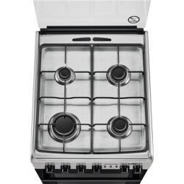 Electrolux Cooker EKK54953OX Hob type Gas, Oven type Electric, Stainless steel, Width 50 cm, Electronic ignition, Grilling, LCD,