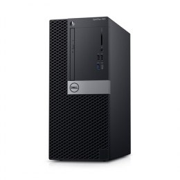 Dell OptiPlex XE3 Desktop, Tower, Intel Core i7, i7-8700, Internal memory 16 GB, DDR4, SSD 512 GB, NVIDIA GeForce 1050, 8x DVD+/