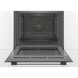 Bosch Oven HBA537BW0S Built-in, 71 L, White, Eco Clean, A, Push pull buttons, Height 60 cm, Width 60 cm, Integrated timer, Elect